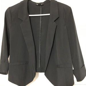 A. Byer Black blazer 3/4 sleeve